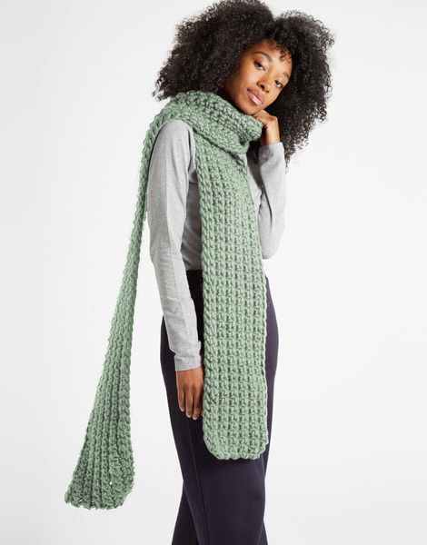 Sweet intuition scarf csw eucalyptus green