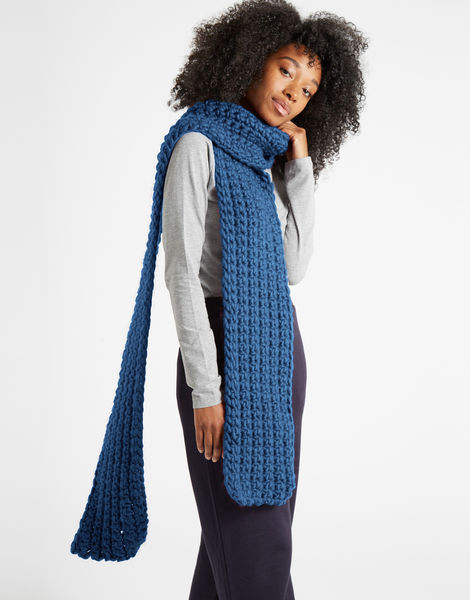 Sweet intuition scarf csw dusty denim