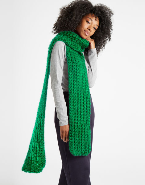Sweet intuition scarf csw emerald green