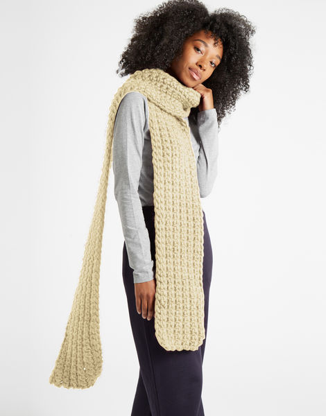 Sweet intuition scarf csw ivory white