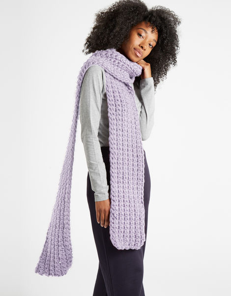 Sweet intuition scarf csw lilac powder
