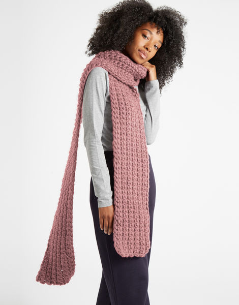 Sweet intuition scarf csw mellow mauve