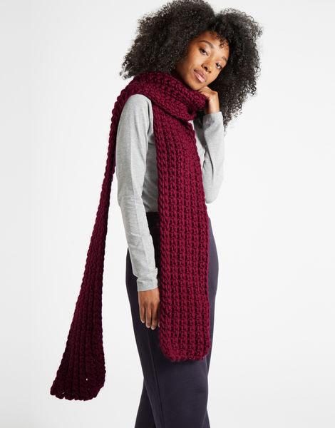 Sweet intuition scarf csw margaux red