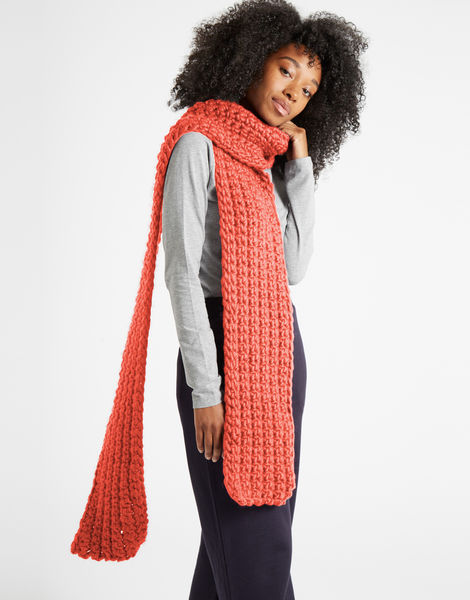 Sweet intuition scarf csw pink sherbert