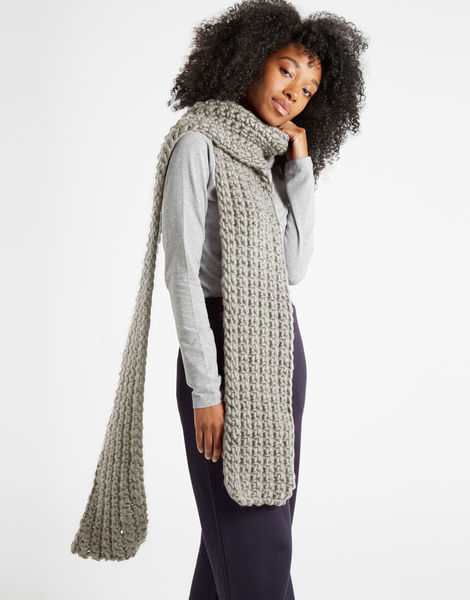 Sweet intuition scarf csw rocky grey