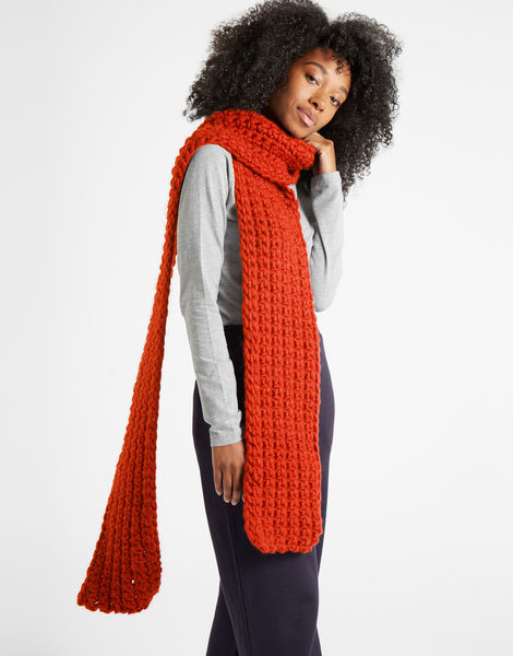Sweet intuition scarf csw rusty orange