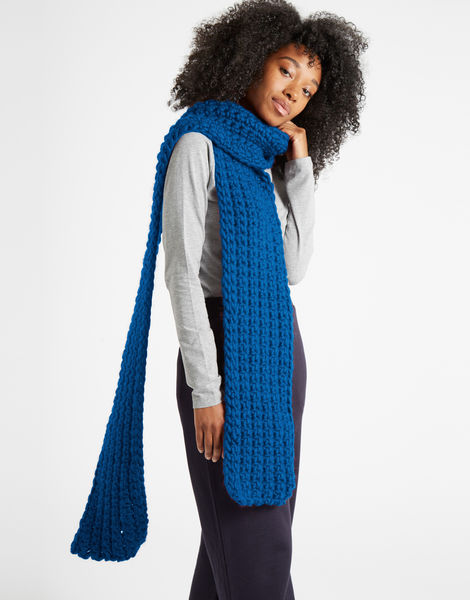 Sweet intuition scarf csw sherpa blue