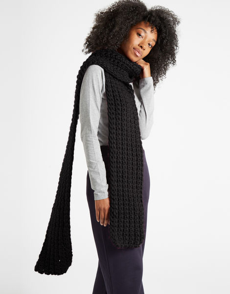 Sweet intuition scarf csw space black