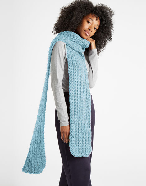 Sweet intuition scarf csw stonewash blue