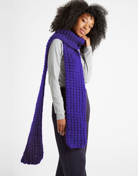 Sweet intuition scarf csw ultra violet