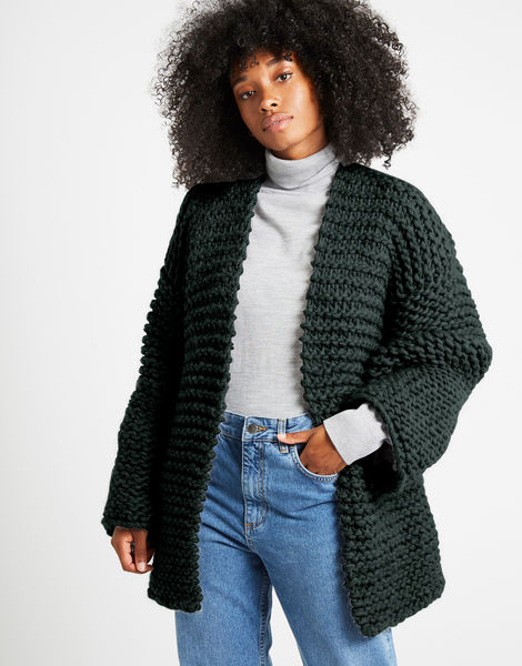 Sweetlove cardigan csw forest green