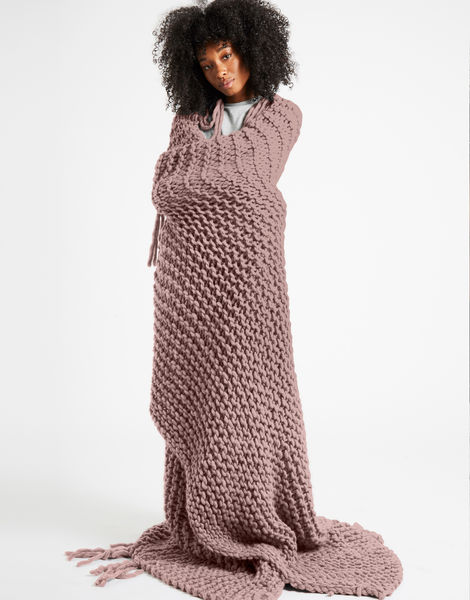 Take me home blanket csw mellow mauve