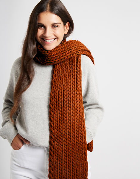 Whistler scarf csw cinnamon dust