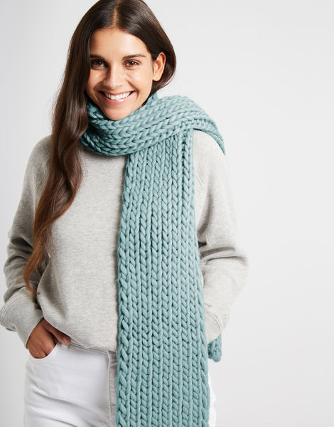 Whistler scarf csw duck egg blue