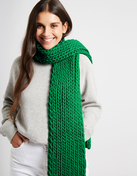 Whistler scarf csw emerald green