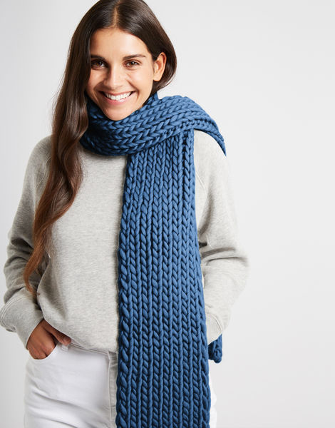 Whistler scarf csw dusty denim