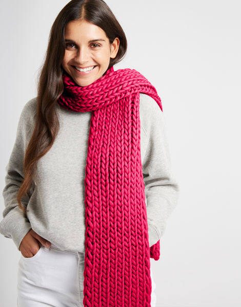 Whistler scarf csw hot punk pink