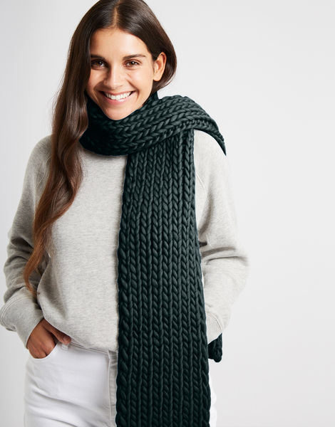 Whistler scarf csw forest green