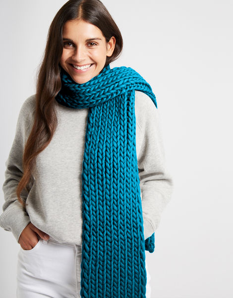 Whistler scarf csw green lagoon