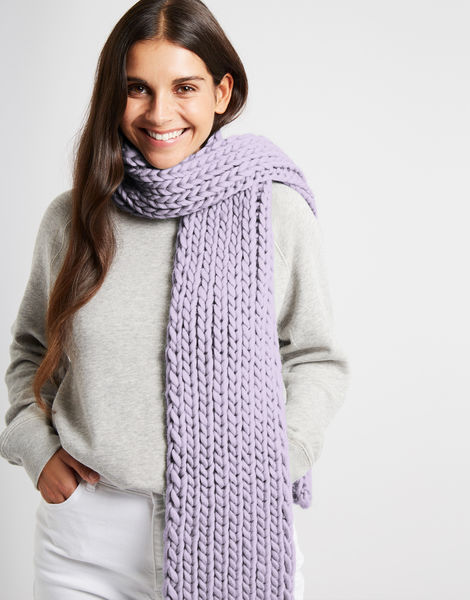 Whistler scarf csw lilac powder