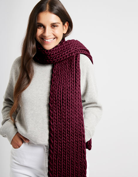 Whistler scarf csw margaux red