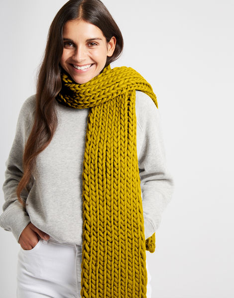 Whistler scarf csw moss green