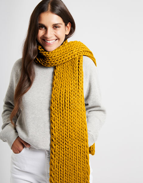 Whistler scarf csw mustard sally