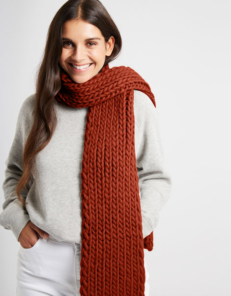 Whistler scarf csw red ochre