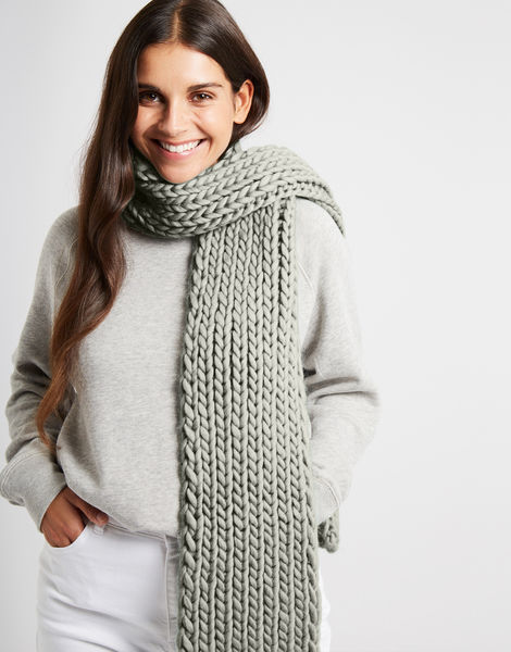 Whistler scarf csw rocky grey