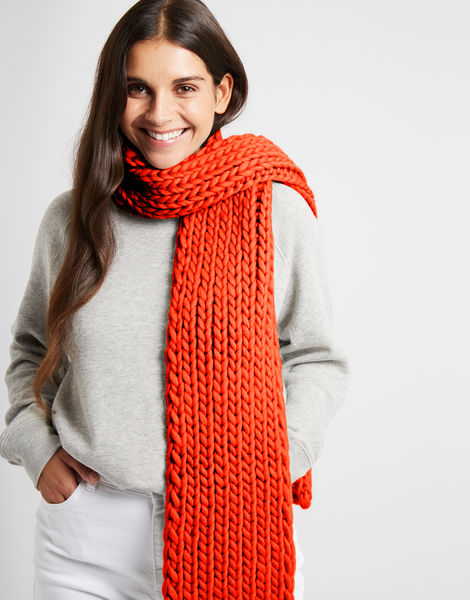 Whistler scarf csw rusty orange