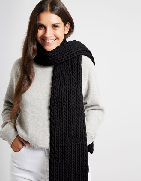 Whistler scarf csw space black