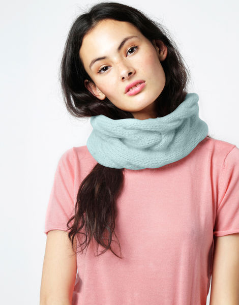 At last snood fgy duck egg blue