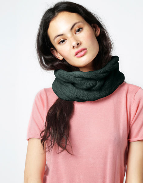 At last snood fgy forest green