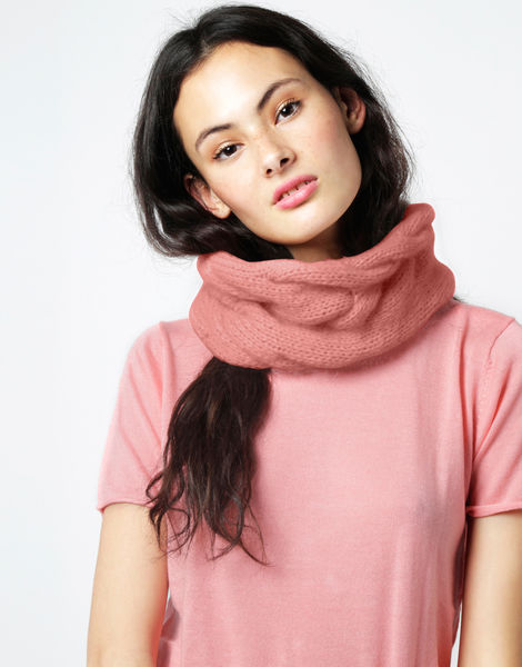 At last snood fgy pink sherbert