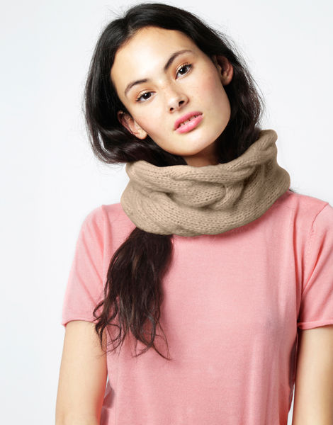 At last snood fgy seashell beige