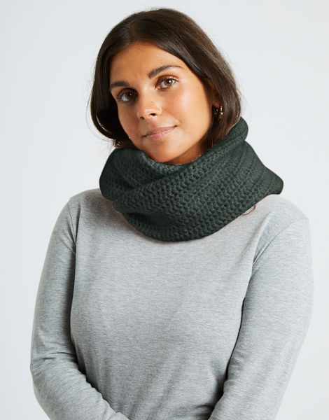 Cherish snood fgy forest green