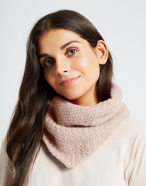 Chilly down cowl fgy cameo rose