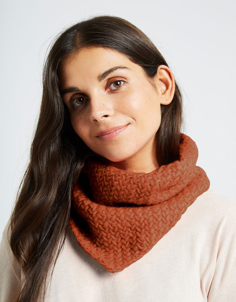 Chilly down cowl fgy cinnamon dust