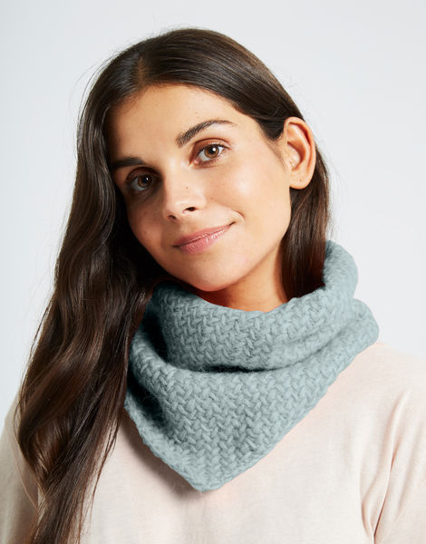 Chilly down cowl fgy duck egg blue