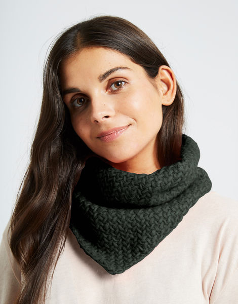 Chilly down cowl fgy forest green