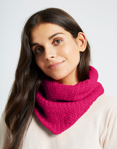 Chilly down cowl fgy hot punk pink