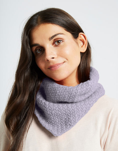 Chilly down cowl fgy lilac powder