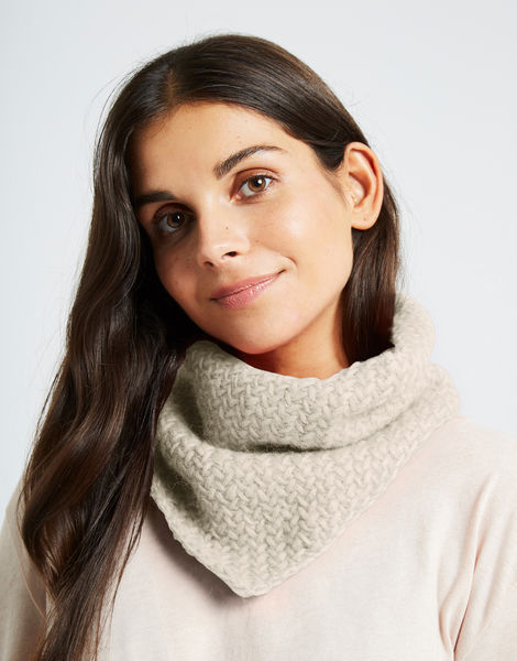 Chilly down cowl fgy ivory white