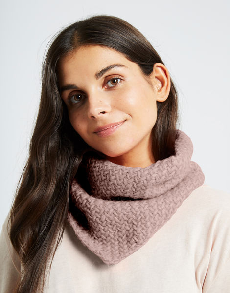 Chilly down cowl fgy mellow mauve