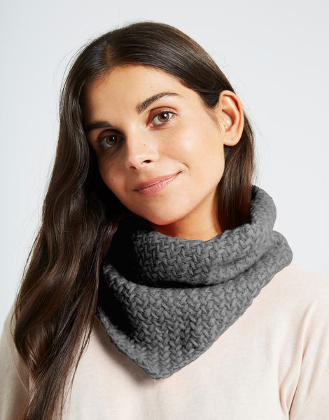 Chilly down cowl fgy silver fox grey