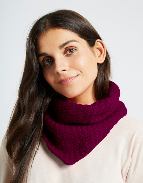 Chilly down cowl fgy margaux red