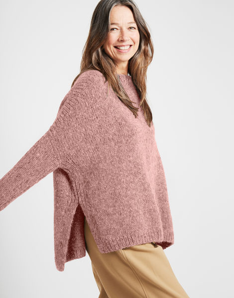 Happy land sweater fgy mellow mauve