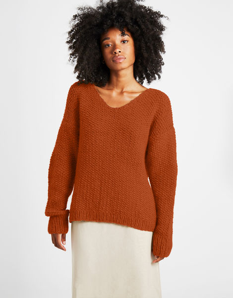 Star sweater sweater 1 fgy cinnamon dust