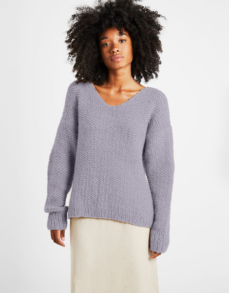 Star sweater sweater 1 fgy lilac powder