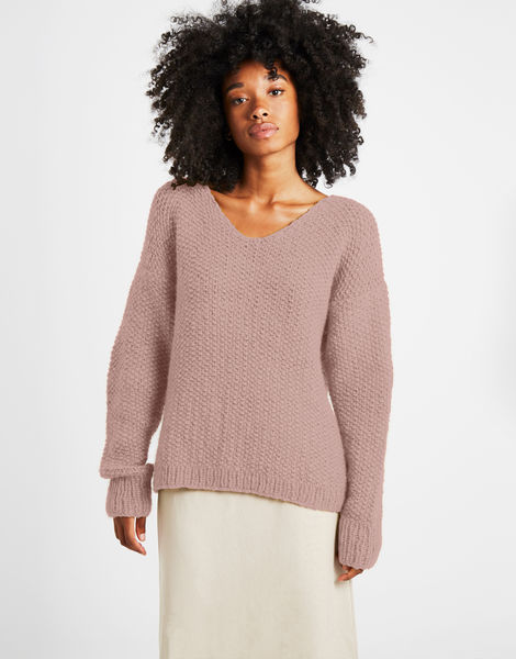 Star sweater sweater 1 fgy mellow mauve